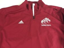 Adidas CCC Basketball Jacket Mens XL Mesh Lined Full Zip Vented Back Cougars