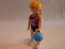 PLAYMOBIL personnage accessoires sport loisirs dame et boule de bowling
