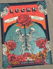 Lockn' Festival Poster Oak Ridge Farm Arrington, VA 2017 Bob Weir Avett Brothers
