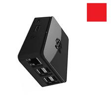 Premium Case Box for Raspberry Pi 2, 3 Model B+ Black Cover Enclosure Box ABS