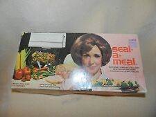 VINTAGE DAZEY SEAL-A-MEAL ORIGINAL BOX