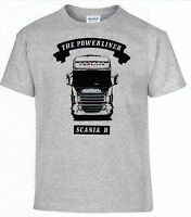 T-Shirt,Scania,Powerliner,Truck,Trucker,LKW