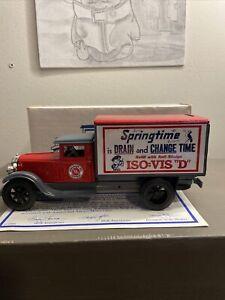 JLE SCALE MODEL ERTL AMOCO 1931 Dodge FREIGHT BANK (NIB) GC-5081