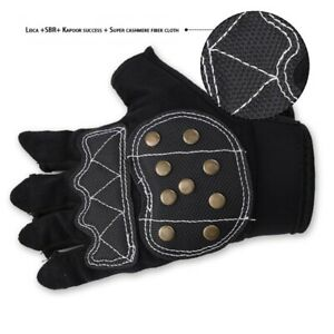 Skateboard Brake Gloves Roller Skating Half-Finger Gloves Skate Protective Gear