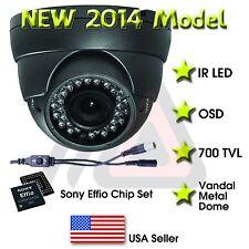 VARIFOCAL OUTDOOR DOME 36 IR 800 TVL SECURITY CAMERA CCTV