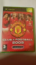 Manchester United Club Football 2005 (xbox) new sealed