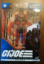 G.I.Joe Classified Series Cobra Red Ninja 08 MISB In Hand Ready to Ship