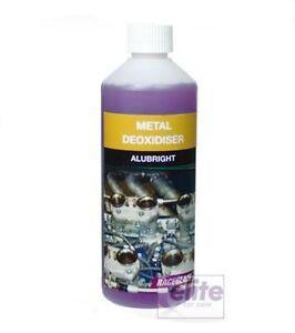 Raceglaze AluBright Metal Deoxidiser, Degreaser & Limescale Remover 500ml