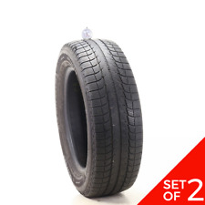 Set Of 2 Used 23560r18 Michelin Latitude X Ice Xi2 107t 5532 Fits 23560r18