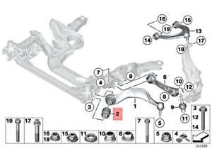 Genuine BMW Ft Lower Control Arm Bushing 31126777653