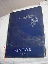 1951 Dickinson High School Yearbook - Dickinson, TX. / The GATOR .... LQQK