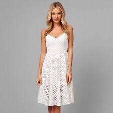 Kookai DIAMOND LACE  Dress natural white  Size 40  Free Post (E47)