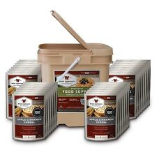 Wise Foods 0 Grab and Go Bucket Breakfast Only 120 Servings 1121