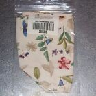 Longaberger Botanical Fields TALL TISSUE Basket Liner ~Made in USA~ New in Bag!