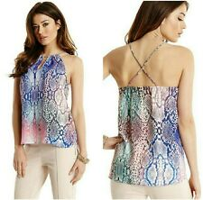 GUESS BY MARCIANO HYPNOTIQUES CHAIN TANK TOP