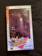 "Very Rare - Rufus 8"" NECA Bill & Ted's NIB George Carlin Shout Factory"