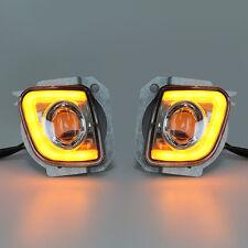 LED Turn Signal Driving Fog Light For Honda Goldwing GL1800 12-16 F6B Valkyrie