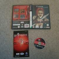 Bloodrayne 1  Nintendo Gamecube GC Game Good Condition. Black Label PAL Wii