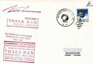 Polarpost: Expedition Antarctique Francaise - THALA DAN - Cristobal - 04.11.65