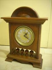 orologio  soprammobile  legno  carica manuale con suoneria