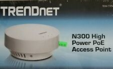 TRENDnet Wireless N 300 Mbps PoE High Gain Ceiling Mount NEW in sealed Box