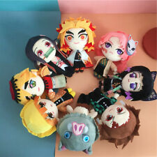 Anime Demon Slayer Kimetsu no Yaiba Rengoku Kyoujurou Plush Stuffed Doll Toy N