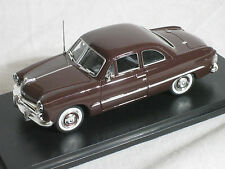 American Heritage 1/43 1949 Ford 2 Door Coupe Midland Maroon Poly  #43-406