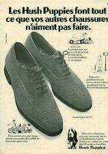 Publicité ancienne chaussures Hush Puppies 1970  issue de magazine
