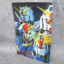 Gundam Mobile Suit libro de diseño de arte oficial daizenshu 1991 Ltd