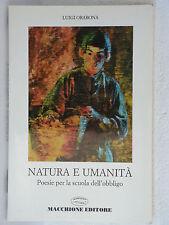 NATURA E UMANITA' - LUIGI ORABONA - MACCHIONE (F102)