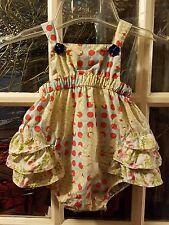 c2224ff52 Matilda Jane Serendipity Lucy Bubble Baby Infant Sz 12 Months Ruffle Romper  HTF