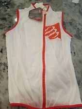 Compressport Cycling Hurricane Windprotect Vest Vest Windproof, White, Large