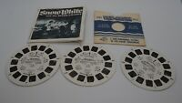 View-Master Reels Disney Snow White & Book Set 3 Reels 21 Pictures