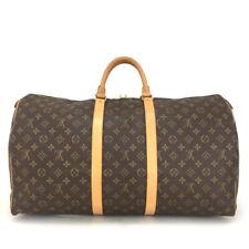 100% Authentic Louis Vuitton Monogram Keepall 55 Boston Travel Hand Bag /20934