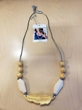 Nummy Beads Silicone Gold /& Copper Pearl Teething Necklace