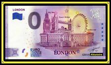 Billet Touristique Souvenir 0 euro - Anniversary Londres - London 2020