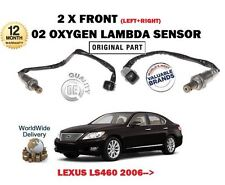 FOR LEXUS LS460 1UR-FSE 32v 2006-> 2X FRONT LEFT + RIGHT 02 OXYGEN LAMBDA SENSOR