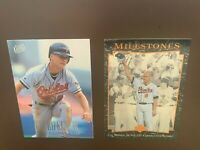 HOF Cal Ripken Jr - Baltimore Orioles- Baseball Card Lot of 2