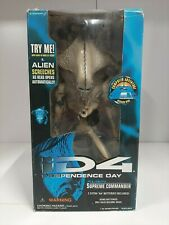 Independence Day Alien Supreme Commander Figure 1996 Trendmasters - MIB