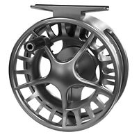 Lamson Liquid 5+ Fly Reel - Color Smoke - NEW