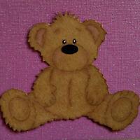 Cute Teddy Bear Metal Cutting Dies Scrapbooking Embossing Stencil Craft Giftcard