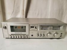 New ListingTechnics Rs-M205 Stereo Cassette Deck Vintage Tested