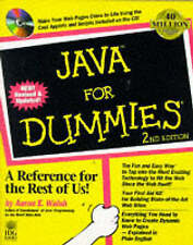 Java For Dummies, Walsh | Paperback Book | Acceptable | 9780764501401