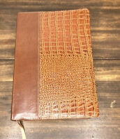 NIV Life Application Study Bible, European Brown/Tan Alligator Leather 1984 Text