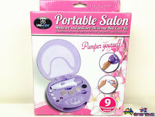 Portable Salon Manicure & Pedicure All In One Nail Care Kit Dryer PE0057