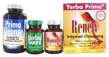 Yerba Prima Women's RENEW Internal Cleansing 3-in-1 Kit COLON INTESTINE CLEANSE