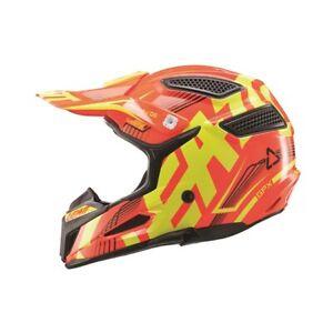 New Youth Kids M 51-52cm Leatt GPX 5.5 ORANGE YELLOW Helmet MX Enduro ATV SALE!