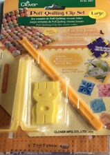 Clover Puff Quilting Clip Set. Large. 8401