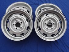 VOLVO AMAZON WIDE STEEL WHEELS 121 122S 123GT