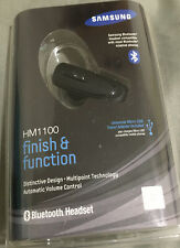 Samsung HM1100 F&Function Wireless Bluetooth Headset With Travel Adapter-New